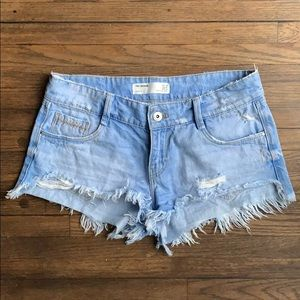 Zara Trafaluc destroyed Denim